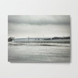 Mississippi River - Davenport, Iowa - Winter 2017 Metal Print