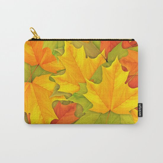 Autumn leaves #9 Carry-All Pouch