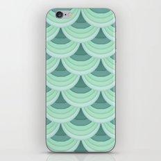Ocean Fan Tail. iPhone & iPod Skin