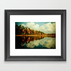Birth of a Cloud Framed Art Print