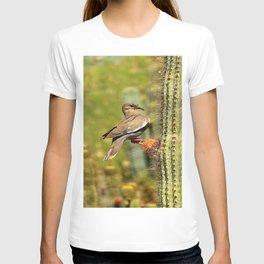 Perching On A Saguaro Cactus T-shirt