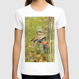 Perching On A Saguaro Cactus T-shirt