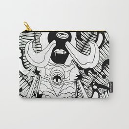 Prince Donster, Guardian of the Tropics (b/w) Carry-All Pouch