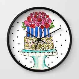 Cake! Wall Clock