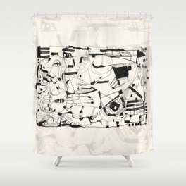 Idyll Shower Curtain