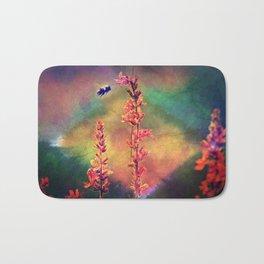 Bee N Wildflowers Diamond Earth Tones Bath Mat