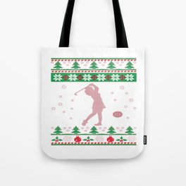 GOLF CHRISTMAS Tote Bag