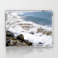The Rocky Shores of San Pedro Laptop & iPad Skin