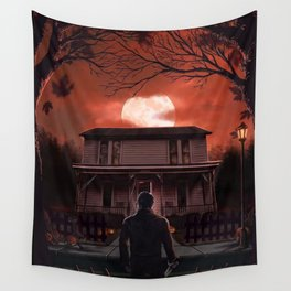 Halloween Horror Wall Tapestry