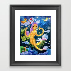 The Sky is Infinite Framed Art Print