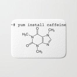 yum install caffeine -y Bath Mat