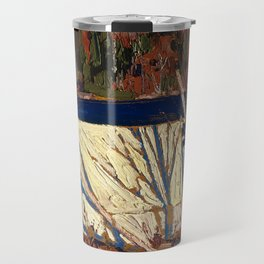 Tom Thomson - The Tent - Canada, Canadian Oil Painting - Group of Seven Travel Mug