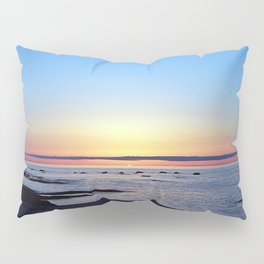 Sun Sets up the River, Across the Sea Pillow Sham