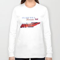 tennessee Long Sleeve T-shirts featuring Tennessee Volunteers by megan matthews