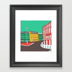 City Life // European Architecture Framed Art Print