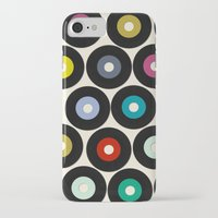 vinyl iPhone & iPod Cases featuring VINYL by Sharon Turner