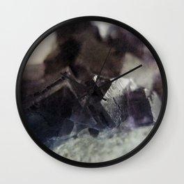 fluorite aura Wall Clock