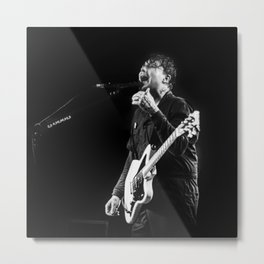 Frank Iero & The Future Violents (Jacksonville FL, 1904 Music Hall) - B&W Metal Print