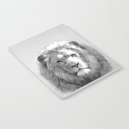 Lion - Black & White Notebook