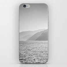 Sea and foggy mountains iPhone & iPod Skin