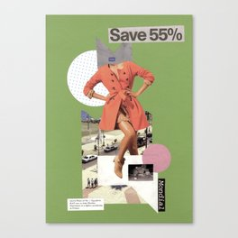 save 55 Canvas Print