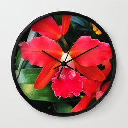 Sobralia Wall Clock