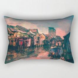 Dream River Rectangular Pillow