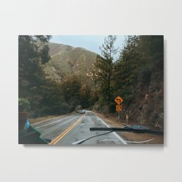 ROAD TRIP II / California Metal Print