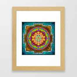 Intuition Sri Yantra II Framed Art Print