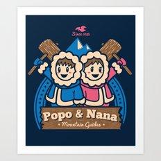 Popo & Nana Art Print