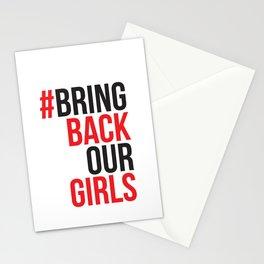 #BrinkBackOurGirls Bring Back Our Girls Stationery Cards