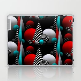 3D - abstraction -40b- Laptop & iPad Skin