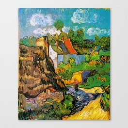 Vincent Van Gogh - House in Auvers Canvas Print