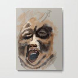 the screamer Metal Print