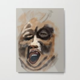 the screamer Metal Print
