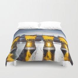 Beer Glasses Duvet Cover