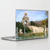 barcelona Laptop & iPad Skins featuring Barcelona by Anabella Nolasco