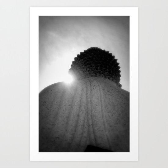 BigBuddha&light Art Print