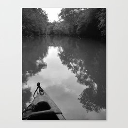 """Saluda River"" Canvas Print"