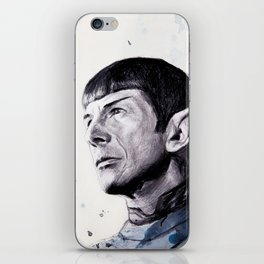 Goodbye Mr. Spock - Leonard Nimoy iPhone Skin