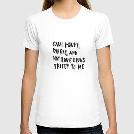 Cash Money, Magic & Hot Love T-shirt