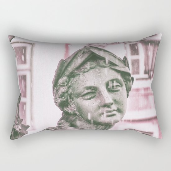 statue Lisbon Rectangular Pillow
