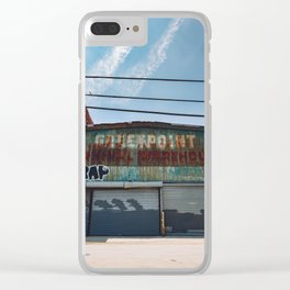 Greenpoint Warehouse Clear iPhone Case