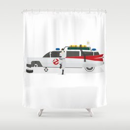 Ghostbusted Shower Curtain