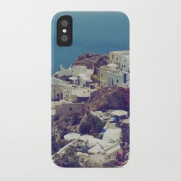 Oia from afar  iPhone Case