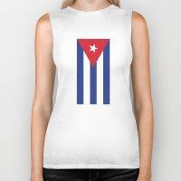 cuba Biker Tanks featuring Cuba Live by McGrathDesigns