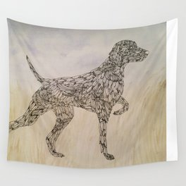 Bird Dog Wall Tapestry