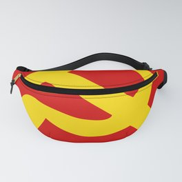 Soviet Union Hammer and Sickle Communist flag. Fanny Pack