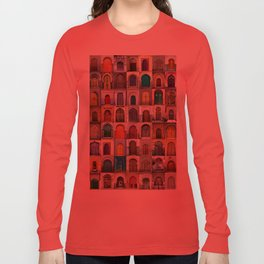 Moorish Doors Montage Long Sleeve T-shirt