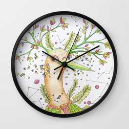 Forest's hear Wall Clock